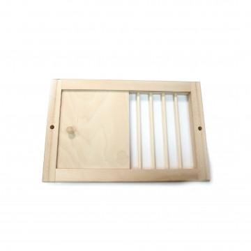 Решетка вентиляционная  240х140 липа