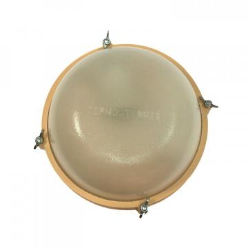 Светильник ТЕРМА 1301 круг малый бежевый (металл)
