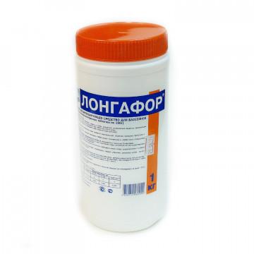 Лонгафор 1 кг, медленнорастваримый хлор в таблетках 200 г