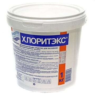Хлоритекс 1кг, быстрорастворимый хлор в гранулах