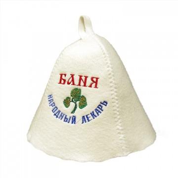 """Шапка БТ """"Баня народный лекарь"""""""