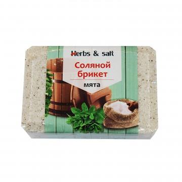 """Брикет соляной """"Мята"""" 1,35 кг"""